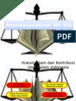 Kontribusi Hukum Islam di Indonesia