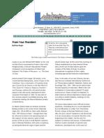 January 2010 Newsletter