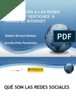 CAMON Las Cigarreras. Materiales. Curso Introducción a Redes Sociales para Mayores. Fundación Caja Mediterráneo