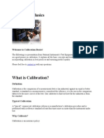 Calibration Basics