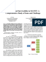 Resilience and Survivability in MANETS