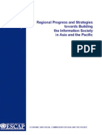 Regional Progress and Strategies towards Building the Information Society in Asia and the Pacific