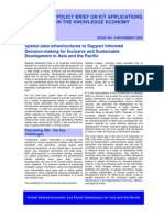 Spatial Data Infrastructures to Support Informed Decision-making for Inclusive and Sustainable Development in Asia and the Pacific