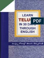 Google Book_ Learn Telugu Through English