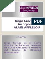 Jorge Calviño Se Incorpora a ALAIN AFFLELOU