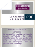 La Chambre Premia a Alain Afflelou