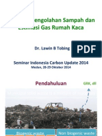 Ppt_skenario Pengelolaan Sampah Dan Estimasi Grk