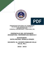 Matemática Basica II