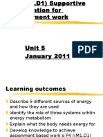 energy january 2011 p4 support m1 d1