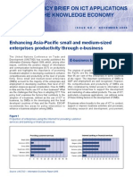 Enhancing Asia-Pacific small and medium-sized enterprises productivity through e-business