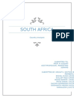 South Africa country analysis 2014