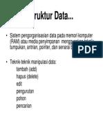 01. Struktur Data Pendahuluan