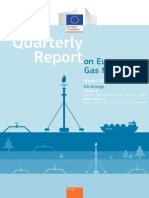 Quaterly Report on European Gas Market