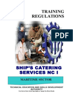 TR Ships Catering Services NC I