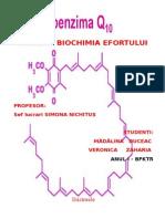 PROIECT BIOCHIMIA EFORTULUI