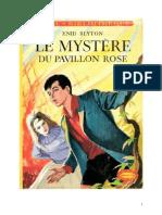 Blyton Enid Série Mystère Détectives 1 Le mystère du pavillon rose 1943 The Mystery of the Burn Cottage.doc