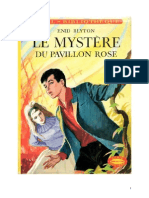 Blyton Enid Série Mystère Détectives 1 Le mystère du pavillon rose 1943 The Mystery of the Burn Cottage.doc