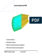 Vibroacoustic Fluid-Structure Interaction With FEM