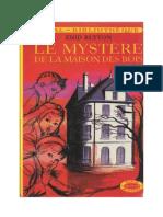 Blyton Enid Série Mystère Détectives 6 Le mystère de la maison des bois 1948 The Mystery of the Hidden House.doc