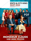 Programmzeitung Moviemento & City-Kino August 2014