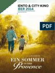 Programmzeitung Moviemento & City-Kino September 2014