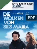 Programmzeitung Moviemento & City-Kino Dezember 2014