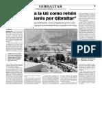 150123 La Verdad- Joseph Garcia-'Madrid Usa a La UE Como Rehen en Pro Del Interés Por Gibraltar' p.9