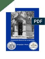 Catálogo Cementerio General de La Apacheta, Arequipa-Perú
