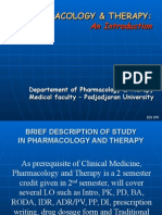 15. Introduction to Pharmacology