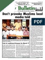 Friday Bulletin 612