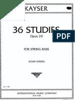 Kayser+-+36+Studies