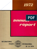 CIP Annual Report 1972