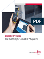 Disto to Bluetooth Guide