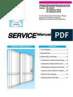 Manual De Servicio Samsung Srl 3626b Refrigerator