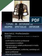 2-Tipuri de Interventie Asupra Spatiului Interior