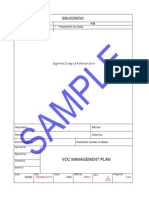 Sample VOC Plan