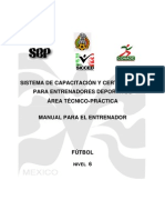 Manual de Tacticas Del Futbol Libre