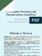 Principales Procesos Del Pensamiento Científico