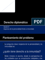 Derecho Diplomático 9 - Personalidad e Inmunidad