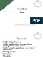 Antibióticos 2014