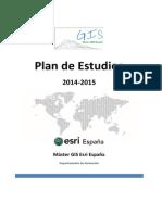 Plan de Estudios Master Gis 20