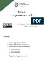 Los Generos en La Radio
