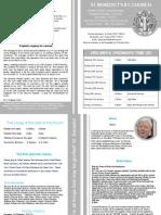 St Benedict's Newsletter 78