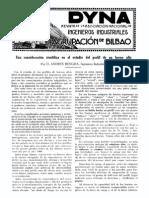 1926-04-001 Una Consideracion Cientifica en El Estudio Del Perfil de Un Horno Alto