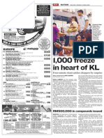 1,000 freeze in heart of KL