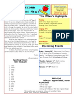 January 23 Newsletter