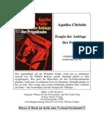Christie, Agatha - Zeugin Der Anklage