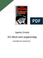 Christie Agatha - Ein Mord Wird Angekuendigt