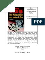 Christie Agatha - Die Mausefalle