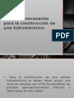 Criterios de selección de turbinas h